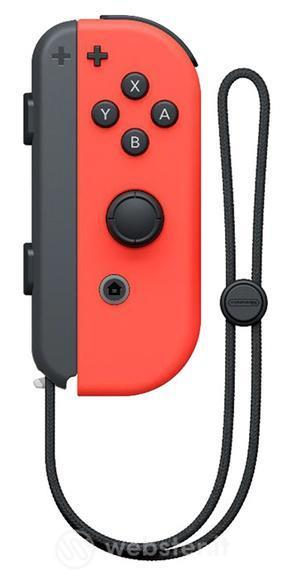 NINTENDO CONTROLLER NINTENDOSWITCH DESTRO RED