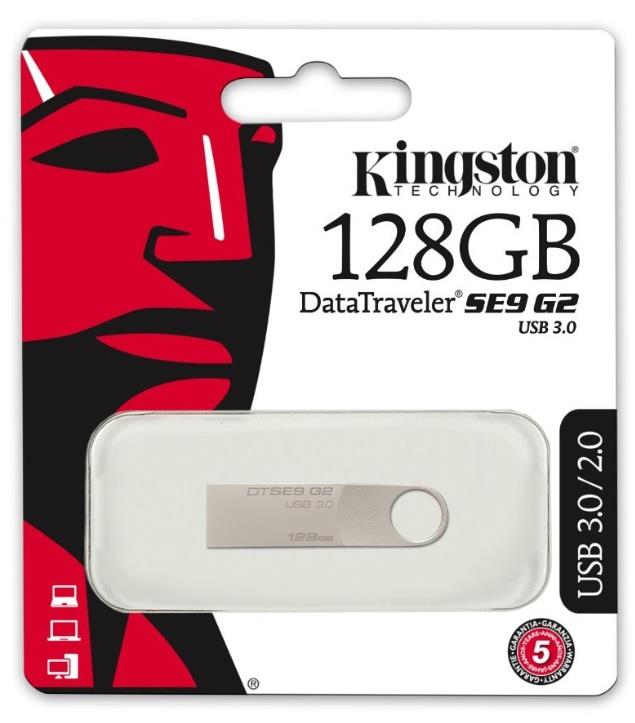 KINGSTON PEN DRIVE KINGSTON DTSE9G2 128GB USB 3.0