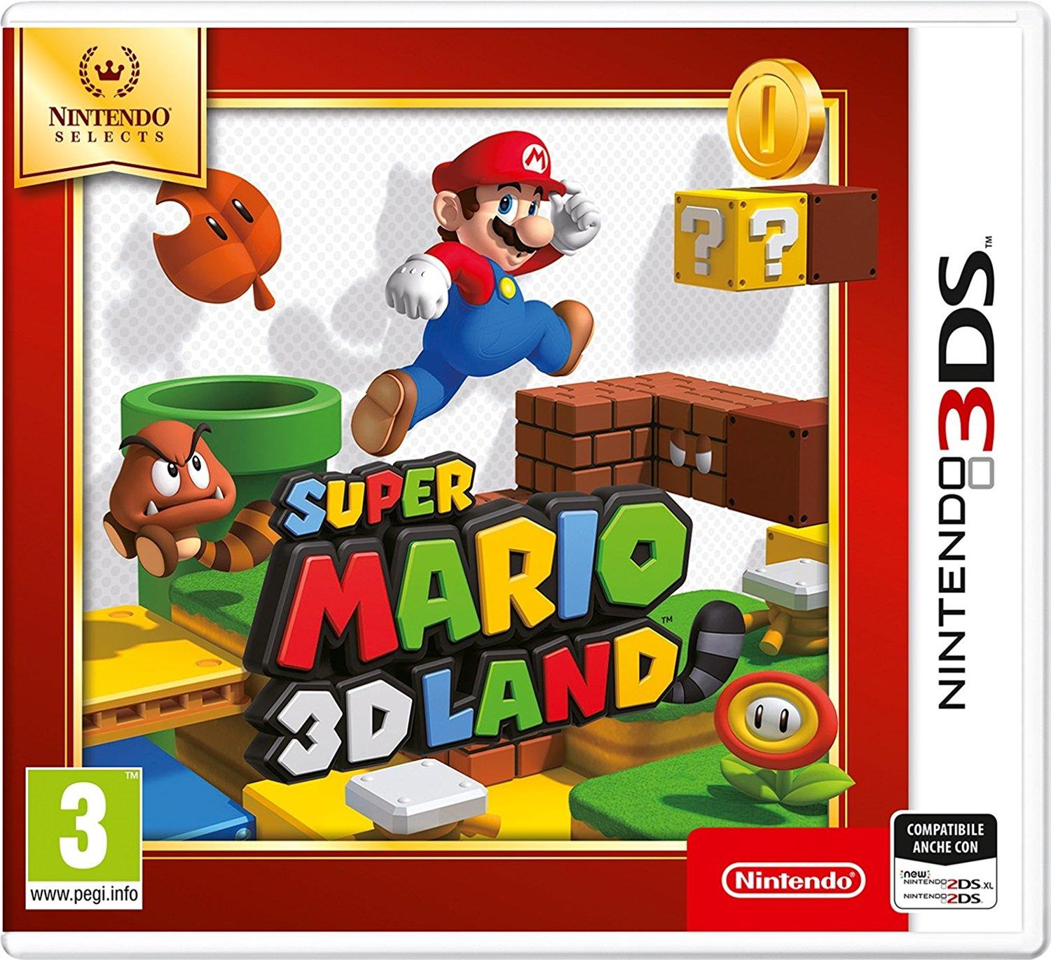 NINTENDO GAME NINTENDO 3DS SUPERMARIO LAND NINTENDO SELECTS