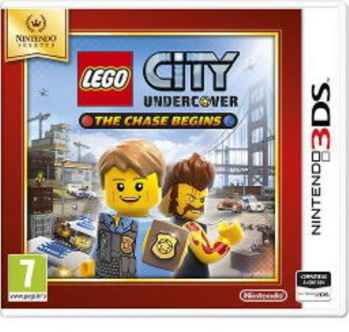 NINTENDO GAME NINTENDO SELECTS 3DS LEGO CITY UNDERCOVER THE CHASE BEGINS
