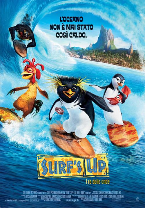 BLU RAY FILM BLU-RAY SURFS UP I RE DELLE ONDE