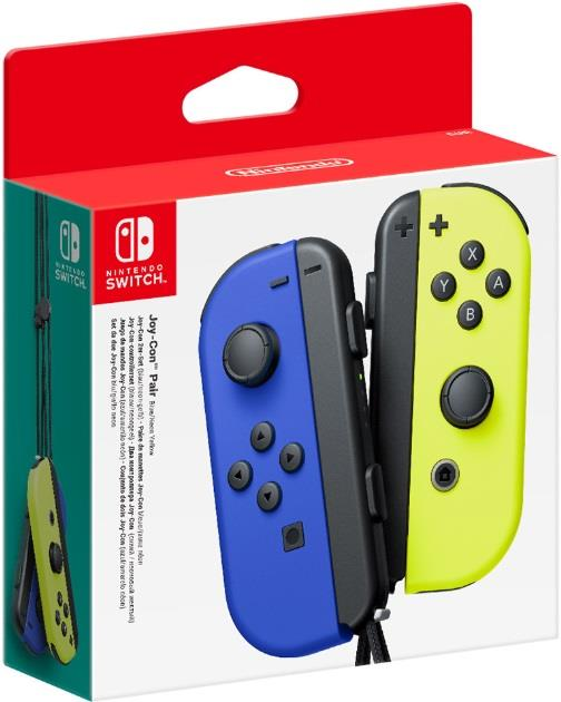 NINTENDO CONTROLLER NINTENDOJOY-CON PAIR BLUE/YELLOW