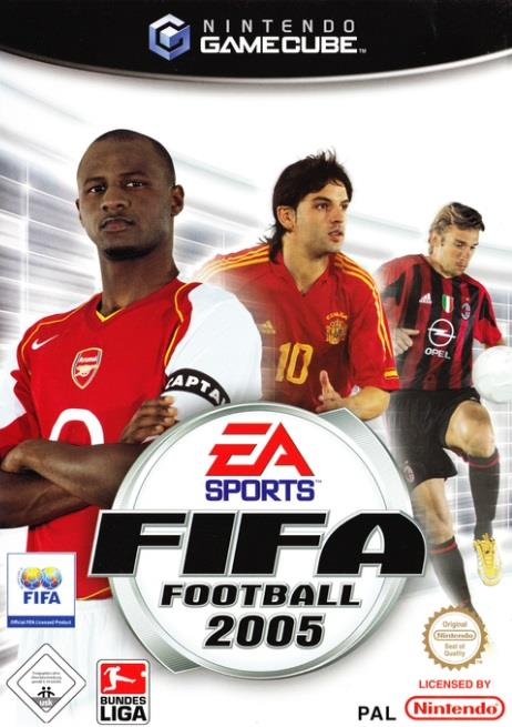 SONY GAME NINTENDO GC FIFA 2005