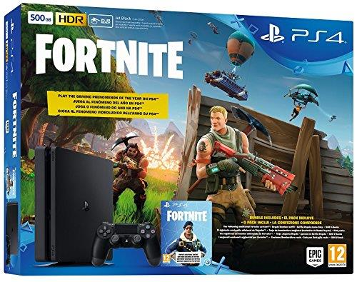 SONY CONSOLE PS4 500GB SLIM + VOUCHER FORTNITE