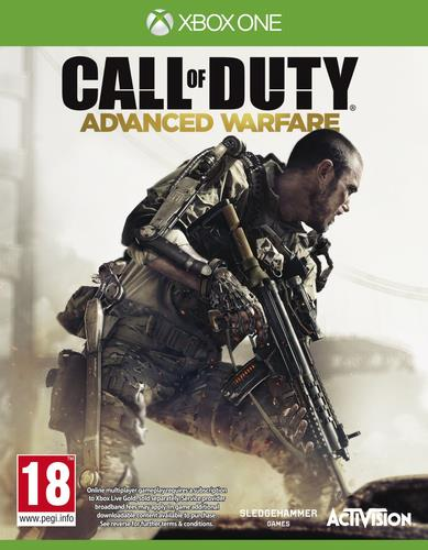 ACTIVISION GAME MICROSOFT XBOX ONE CALL OF DUTY ADVANCED WARFARE
