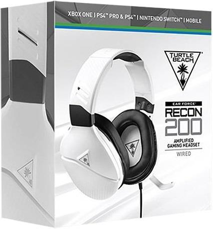 TURTLE BEACH CUFFIA TURTLE BEACH RECON FORCE 200 WHITE