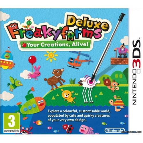 NINTENDO GAME NINTENDO 3DS FREAKY FORMS DELUXE