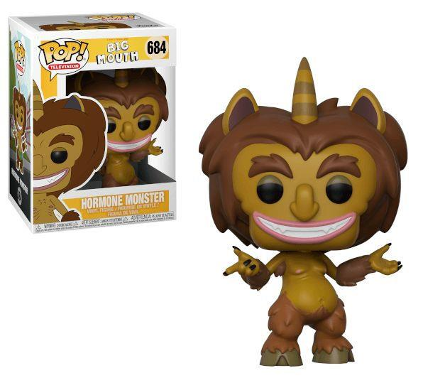 FUNKO ACTION FIGURES FUNKO POP TELEVISION BIG MOUTH MOSTRO