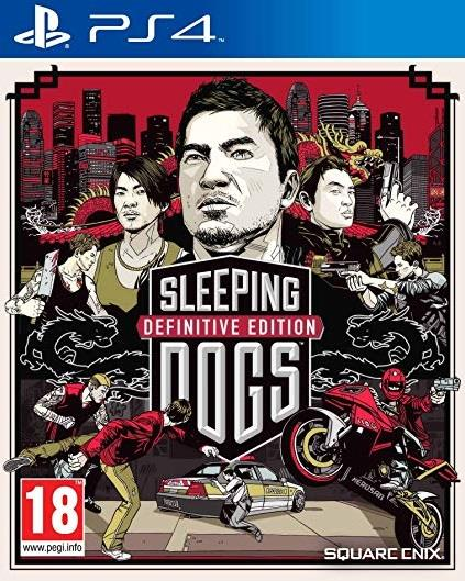 SONY GAME SONY PS4 SLEEPING DOGS DEFINITIVE EDITION