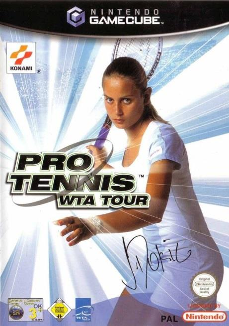 SONY GAME NINTENDO GC PRO TENNIS WTA TOUR