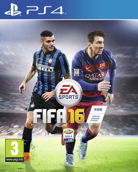 ELECTRONIC ARTS GAME SONY PS4 FIFA 16