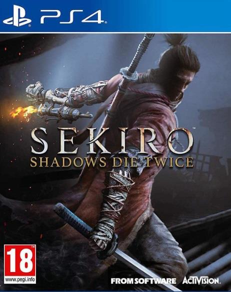 ACTIVISION GAME SONY PS4 SEKIRO: SHADOWS DIE TWICE
