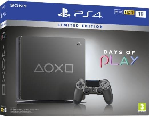 SONY CONSOLE SONY PS4 SLIM 1 TB DAYS OF PLAY EDITION