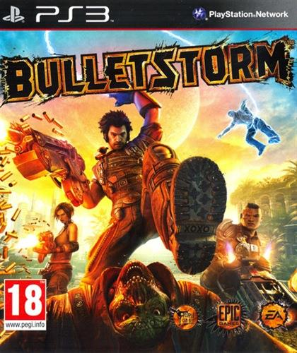 SONY GAME SONY PS3 BULLETSTORM