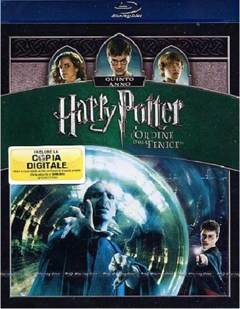 BLU RAY FILM BLU-RAY HARRY POTTER E L'ORDINE DELLA FENICE SPECIAL EDITION