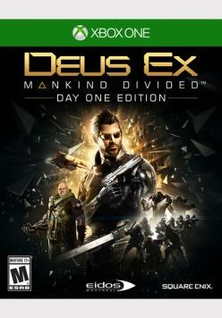MICROSOFT GAME MICROSOFT XBOX ONE DEUS EX MANKIND DIVIDED DAYONE EDITION