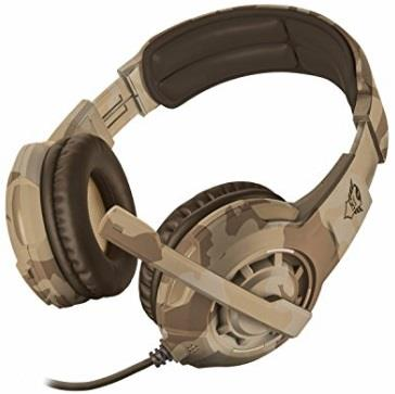 TRUST CUFFIE GAMING TRUST GXT310D RADIUS CAMOUFLAGE GAMING HEADSET