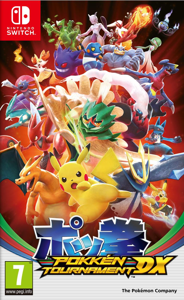 NINTENDO GAME NINTENDO SWITCH POKKEN TOURNAMENT DX
