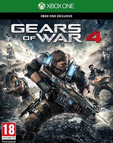 MICROSOFT GAME GEARS OF WAR 4 X XBOX ONE