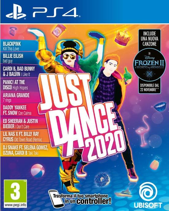 ELECTRONIC ARTS GAME SONY PS4 JUST DANCE 2020