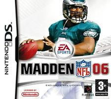 NINTENDO GAME NDS MADDEN 06