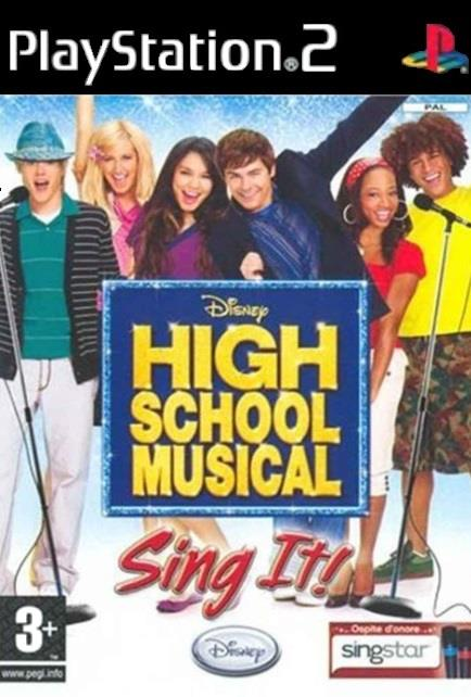 TX GAME SONY PS2 HIGH SCHOOL MUSICAL SING IT