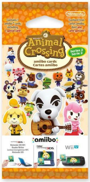 NINTENDO AMIIBO NINTENDO ANIMAL CROSSING SERIE 2