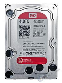 WESTERN DIGITAL HARD DISK WESTERN DIGITAL 3.5 4TB 64 MB SATA 3 NAS